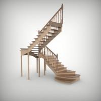 Как спроектировать удобную и безопасную лестницу