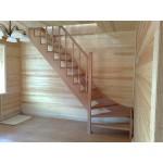 Деревянная лестница на второй этаж своими руками. Пошаговая инструкция