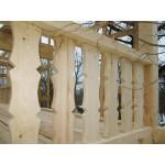 Как крепить деревянные балясины
