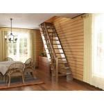 Недорогие лестницы для дома: обзор готовых моделей